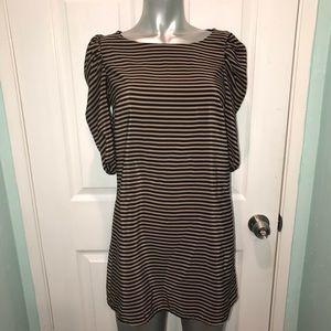 H&M striped shift dress